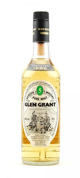 Whisky 1986 Glen Grant Highland Malt 5 years old