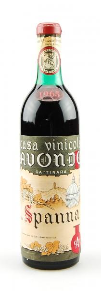 Wein 1965 Gattinara Spanna Vinicola Avondo