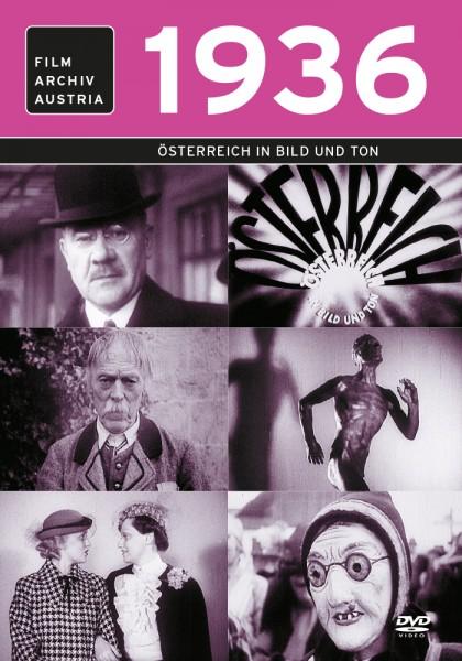 DVD 1936 Chronik Austria Wochenschau in Holzkiste