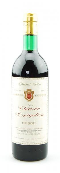 Wein 1972 Chateau Montgallon Ets. Saint Ferdinand