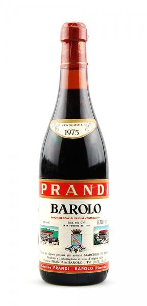 Wein 1975 Barolo Prandi Tenuta Marchesi di Barolo