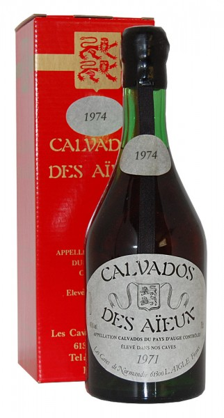 Calvados 1974 Calvados des Aieux du Pays d´ Auge