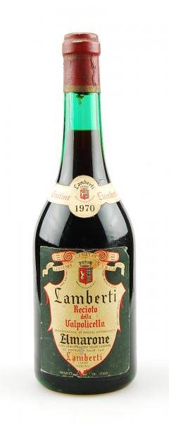Wein 1970 Amarone Recioto della Valpolicella Lamberti