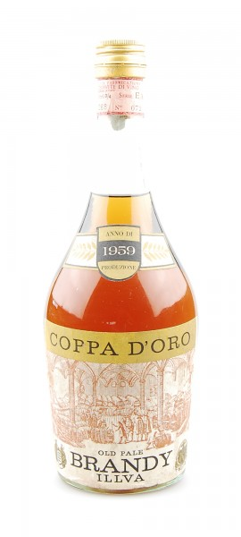 Brandy 1959 Old Pale Brandy Coppa d´Oro Illva Saronno