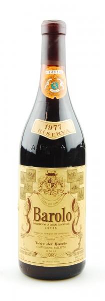 Wein 1977 Barolo Riserva Terre del Barolo