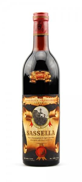 Wein 1967 Sassella Enologica Valtellinese