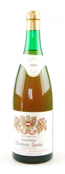 Wein 1969 Mönchhofer Spätlese Naturrein