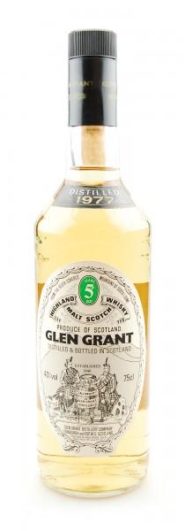 Whisky 1977 Glen Grant Highland Malt 5 years old