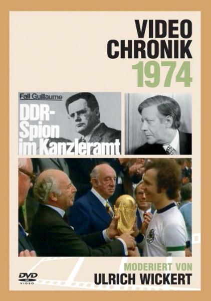 DVD 1974 Chronik Deutsche Wochenschau in Holzkiste