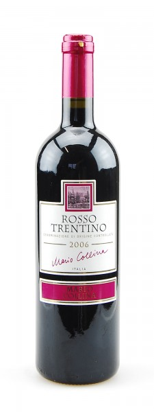 Wein 2006 Rosso Trentino Mario Collina