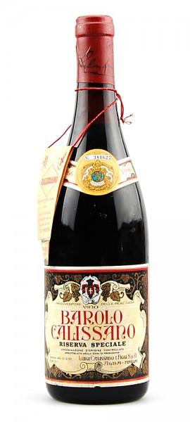 Wein 1966 Barolo Calissano Riserva Speciale