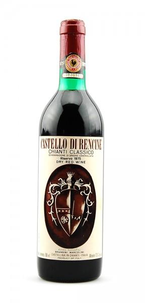Wein 1975 Chianti Classico Castello di Rencine Riserva