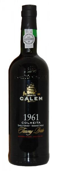 Portwein 1961 Calem Colheita