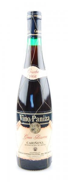 Wein 1968 Carinena Vino Paniza Gran Reserva