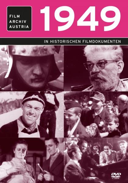 DVD 1949 Chronik Austria Wochenschau in Holzkiste