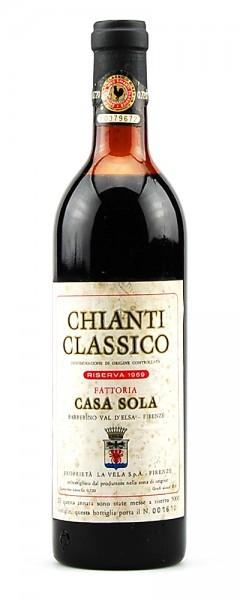 Wein 1969 Chianti Classico Riserva Casa Sola