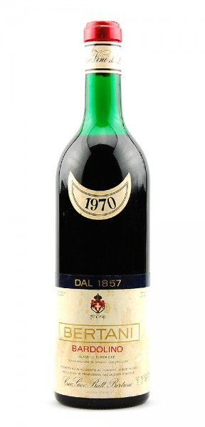 Wein 1970 Bardolino Bertani Classico Superiore