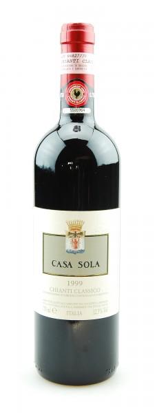 Wein 1999 Chianti Classico Casa Sola