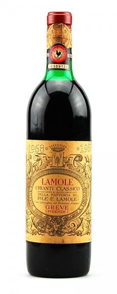 Wein 1968 Chianti Classico Lamole
