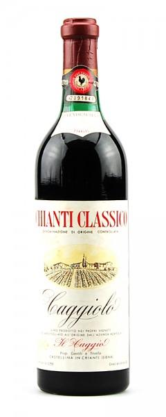 Wein 1968 Chianti Classico Caggiolo Acienda Il Gaggio