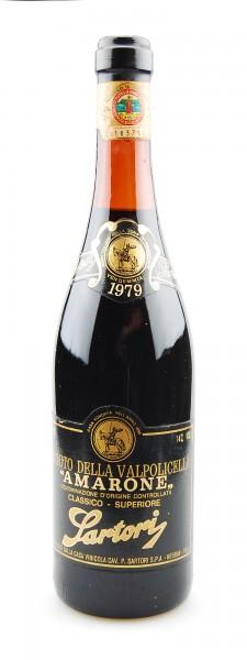 Wein 1979 Amarone Sartori Reciotto della Valpolicella