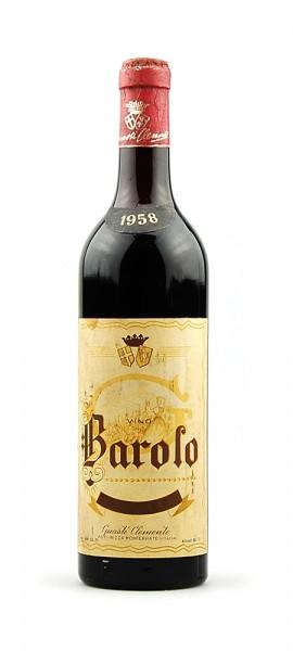 Wein 1958 Barolo Guasti Clemente