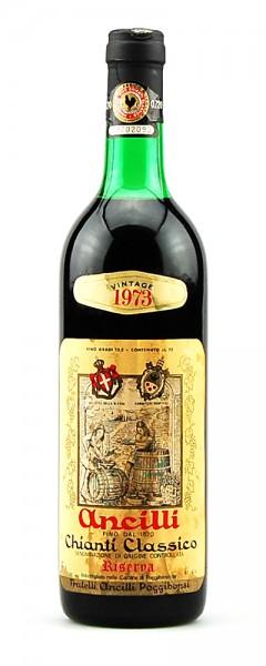 Wein 1973 Chianti Classico Fratelli Ancilli Poggibonsi