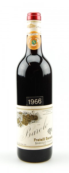 Wein 1966 Barolo Fratelli Barale