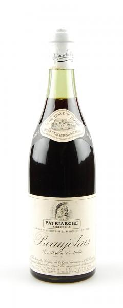 Wein 1966 Beaujolais Patriarche Pere & Fils