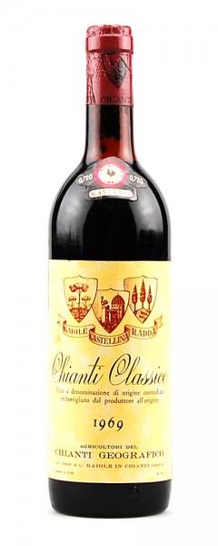 Wein 1969 Chianti Classico Geografico