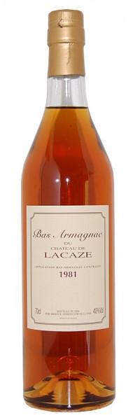 Armagnac 1981 Bas-Armagnac du Chateau de Lacaze
