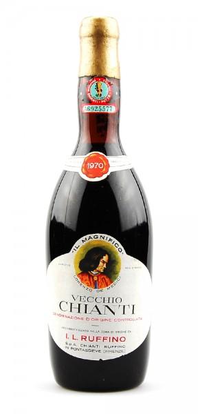 Wein 1970 Chianti Vecchio Il Magnifico Ruffino