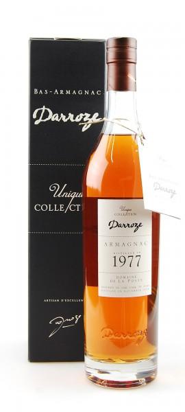 Armagnac 1977 Bas-Armagnac Darroze Domaine de La Poste