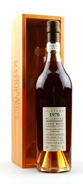 Cognac 1970 Maxime Trijol Fins Bois
