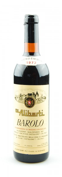 Wein 1977 Barolo Aliberti
