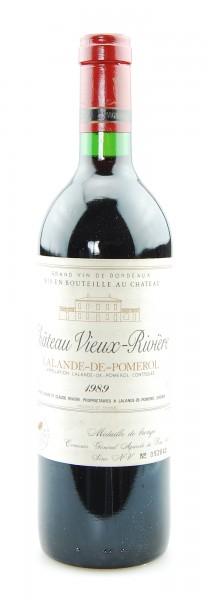 Wein 1989 Chateau Vieux-Riviere