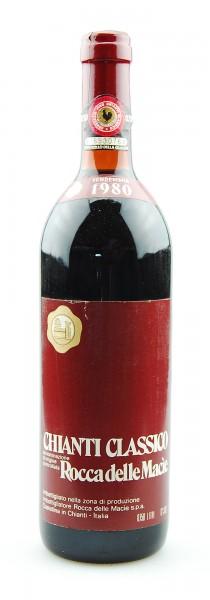 Wein 1980 Chianti Classico Rocca delle Macie