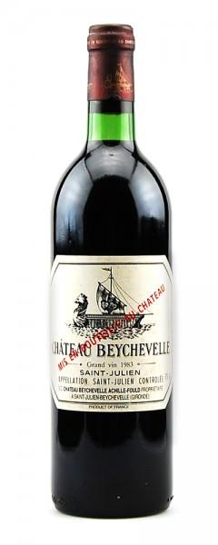 Wein 1983 Chateau Beychevelle 4eme Grand Cru Classe