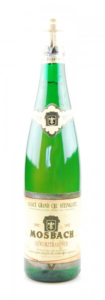 Wein 1992 Gewurztraminer Mosbach Alsace Grand Cru