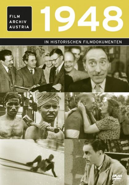 DVD 1948 Chronik Austria Wochenschau in Holzkiste