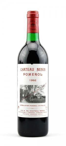 Wein 1992 Chateau Nenin Grand Vin de Boredaux