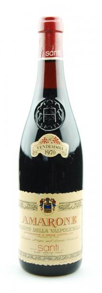 Wein 1970 Amarone Recioto della Valpolicella Santi