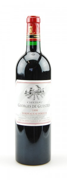 Wein 1998 Chateau La Ganne Georges de Guestres