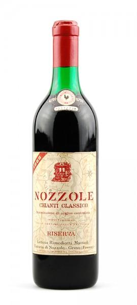 Wein 1966 Chianti Classico Nozzole Riserva