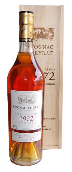 Cognac 1972 Leyrat Single Estate