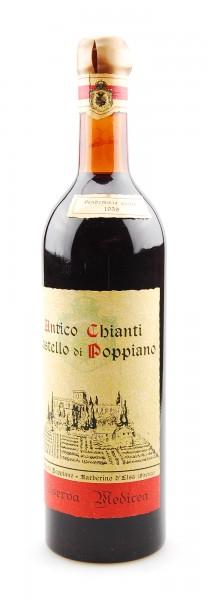 Wein 1959 Chianti Riserva Antico Castello di Poppiano