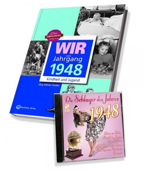 Zeitreise 1948 - Wir vom Jahrgang & Schlager 1948