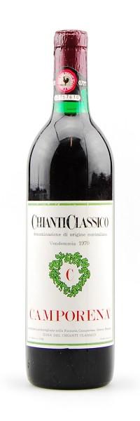 Wein 1970 Chianti Classico Camporena