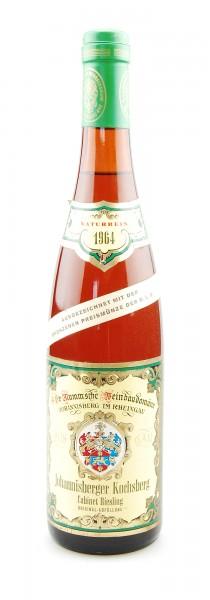 Wein 1964 Johannisberger Kochsberg Riesling