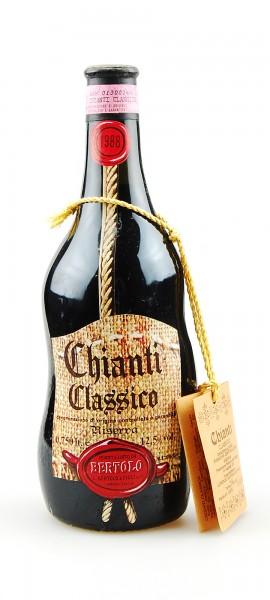 Wein 1988 Chianti Classico Riserva Bertolo